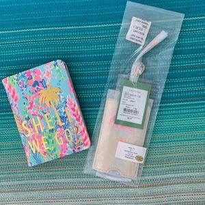 Lilly Pulitzer Passport Cover and Luggage Tag